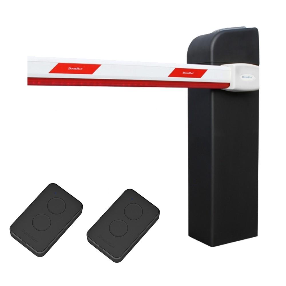 Шлагбаум Doorhan Barrier Pro 5000 с пультами дистанционного управления
