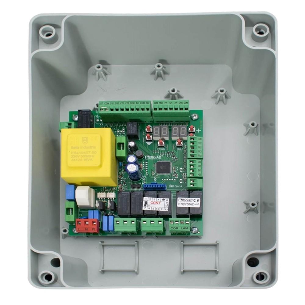 Блок управления ROGER H70/200AC для распашных приводов в коробке