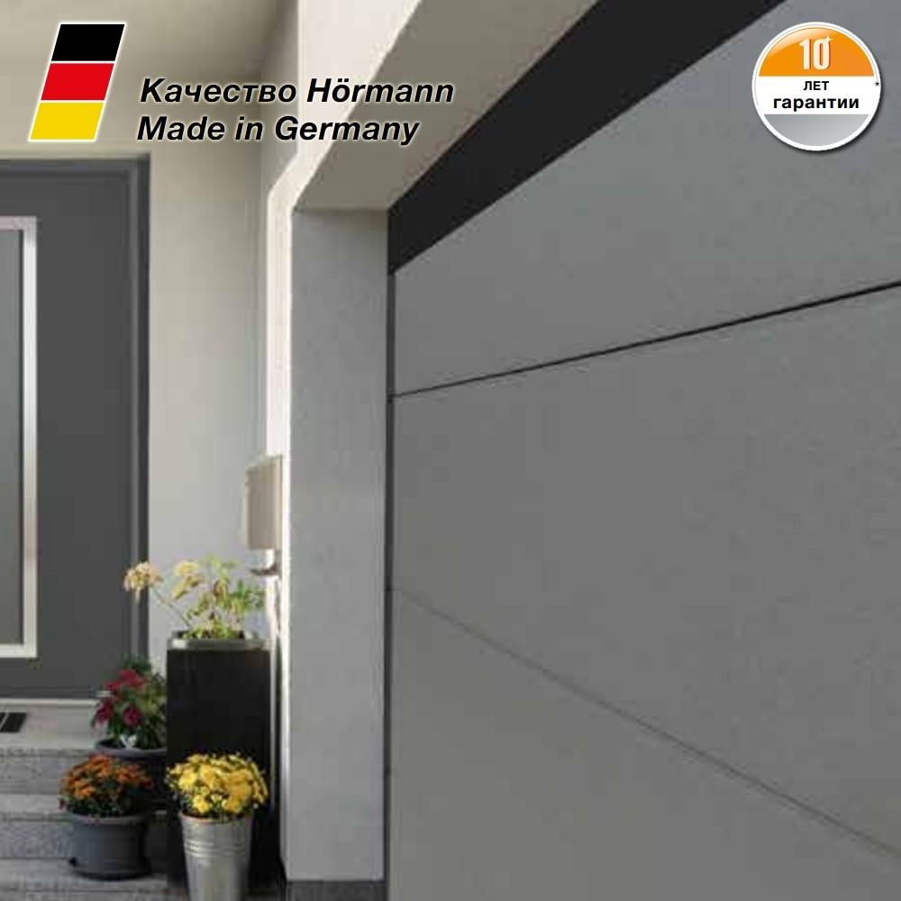 Гаражные секционные ворота RenoMatic 2500 x 2125 с приводом ProLift