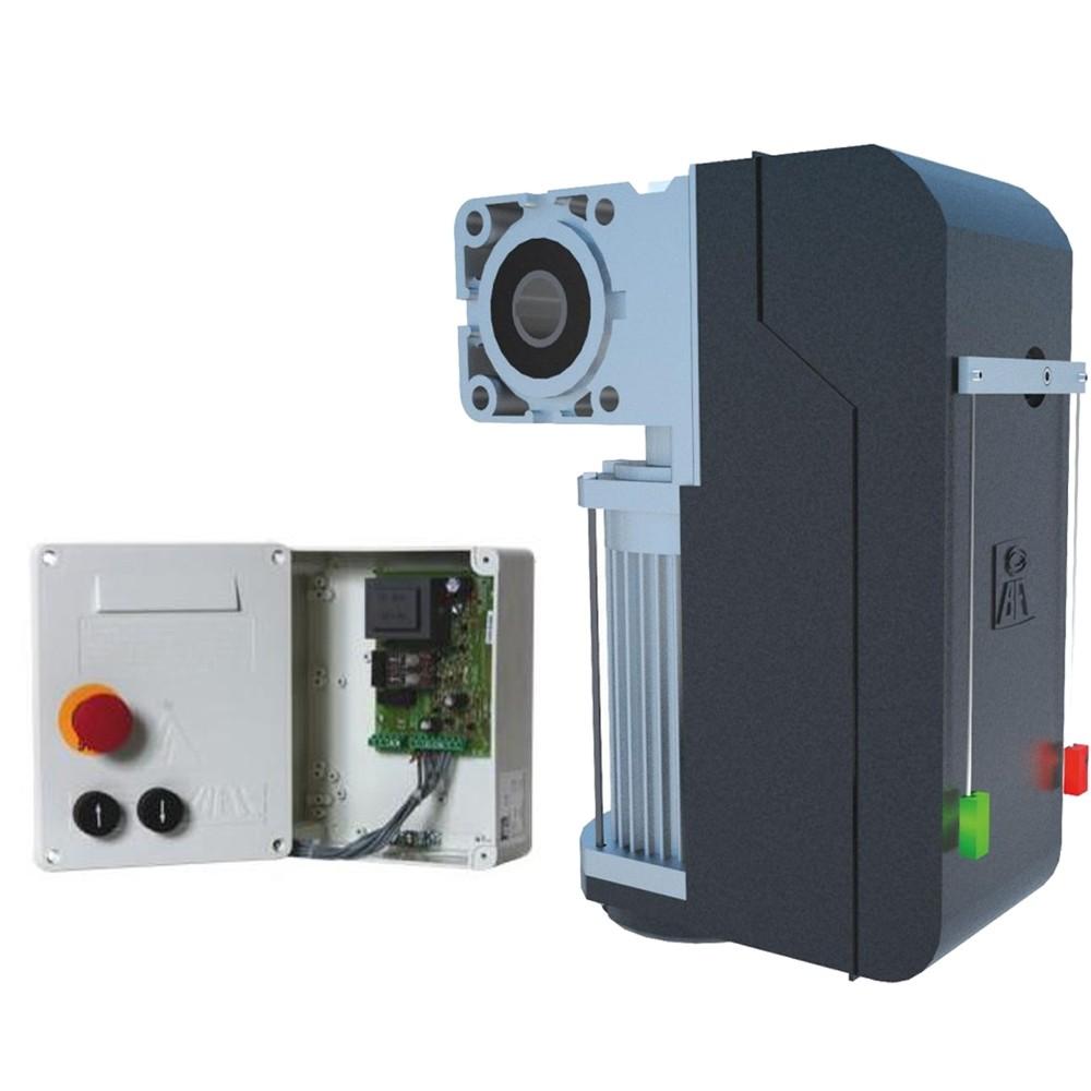 Привод для секционных ворот BFT KIT PEGASO BCJA 230 V с блоком  управления ELMEC1