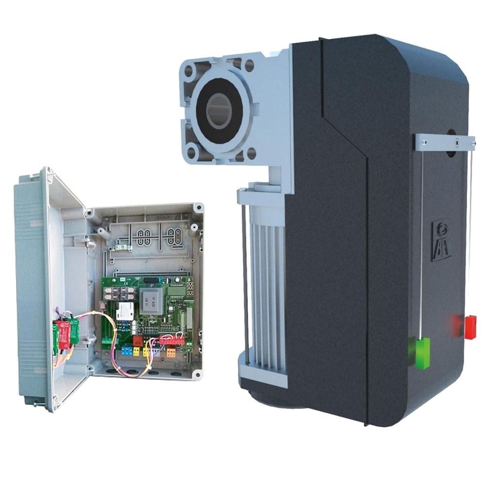 Привод для секционных ворот BFT PEGASO BCJA 380 V  с блоком LEO B CBB