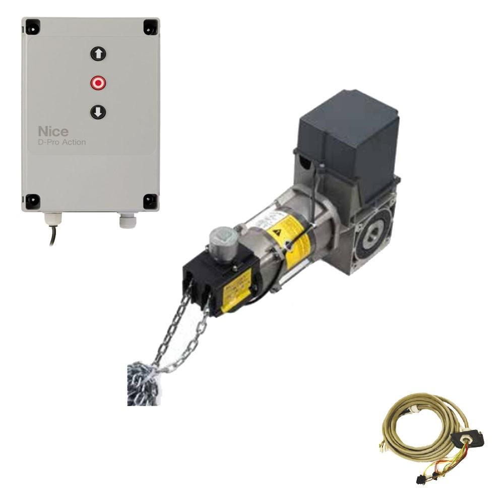 Комплект автоматики Nice SD10024400KEKIT для промышленных секционных ворот