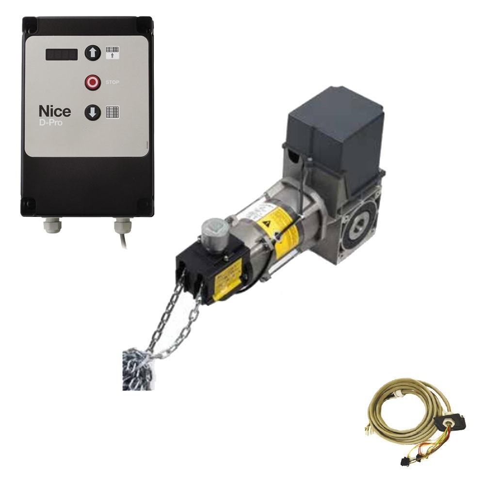 Комплект автоматики Nice SD12020400KEKIT1 для промышленных секционных ворот