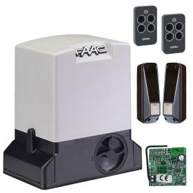 Комплект привода Faac 740 KIT RC для откатных ворот