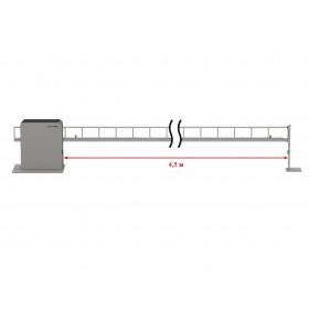 Антивандальный шлагбаум DoorHan Barrier Protector со стрелой до 4,5 метра