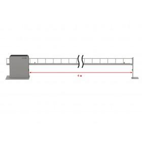 Антивандальный шлагбаум DoorHan Barrier Protector со стрелой до 4 метра