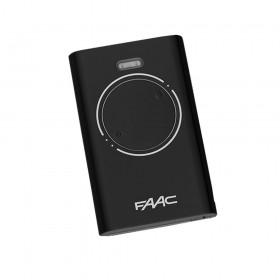Брелок-передатчик Faac XT2 868 SLH LR черного цвета