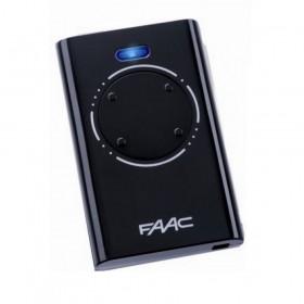 Брелок-передатчик Faac XT4 433 SLH LR черного цвета