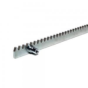Рейка зубчатая на болтах (30х12 мм) 1 м, модуль 4