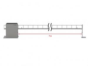 Антивандальный шлагбаум DoorHan Barrier Protector со стрелой до 5 метров.