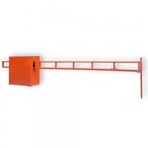 Шлагбаум антивандальный откатной со стрелой на проём до 4,2 метра