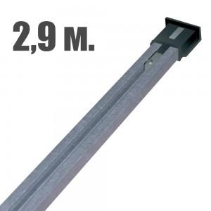 Направляющая рейка для приводов BFT bin 650-850 catena L2900