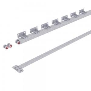 Система РОЛТЭК ЕВРО RC74 для подвесных ворот