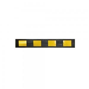 Демпфер стеновой с прямоугольными светоотражателями желтого цвета