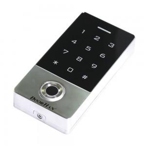 Кодовая клавиатура со встроенным считывателем отпечатков пальцев и карт (EMarine)