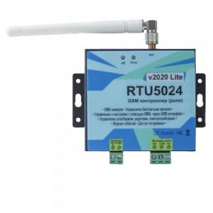 Контроллер GSM RTU5024 v2020 Lite