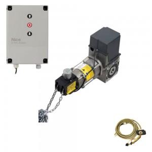Комплект автоматики Nice SD12020400KEKIT для промышленных секционных ворот