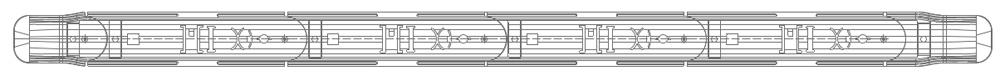 Пример установки делиниатора
