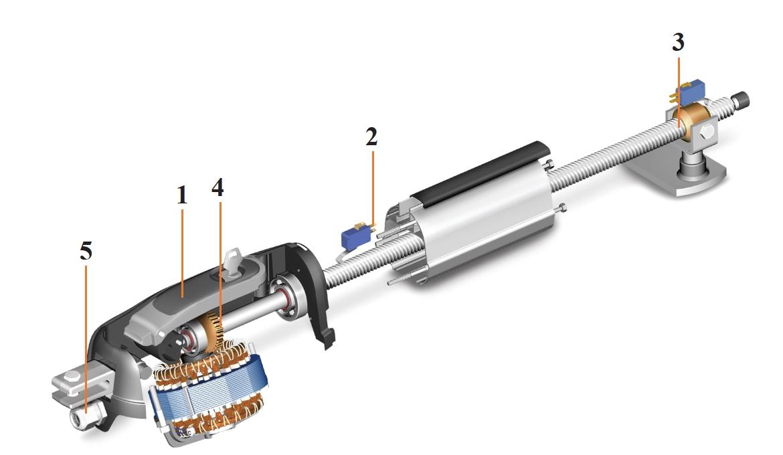 Схема электропривода ROGER R20 /300/500